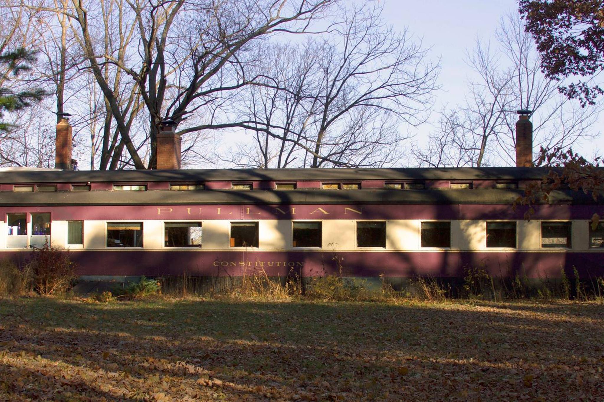 The Pullman Train Car Constitution in Plano, IL