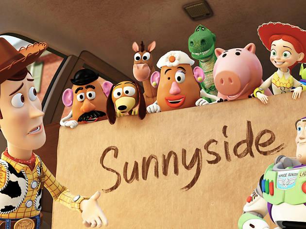 Toy Story 3 en el Autocinema Coyote