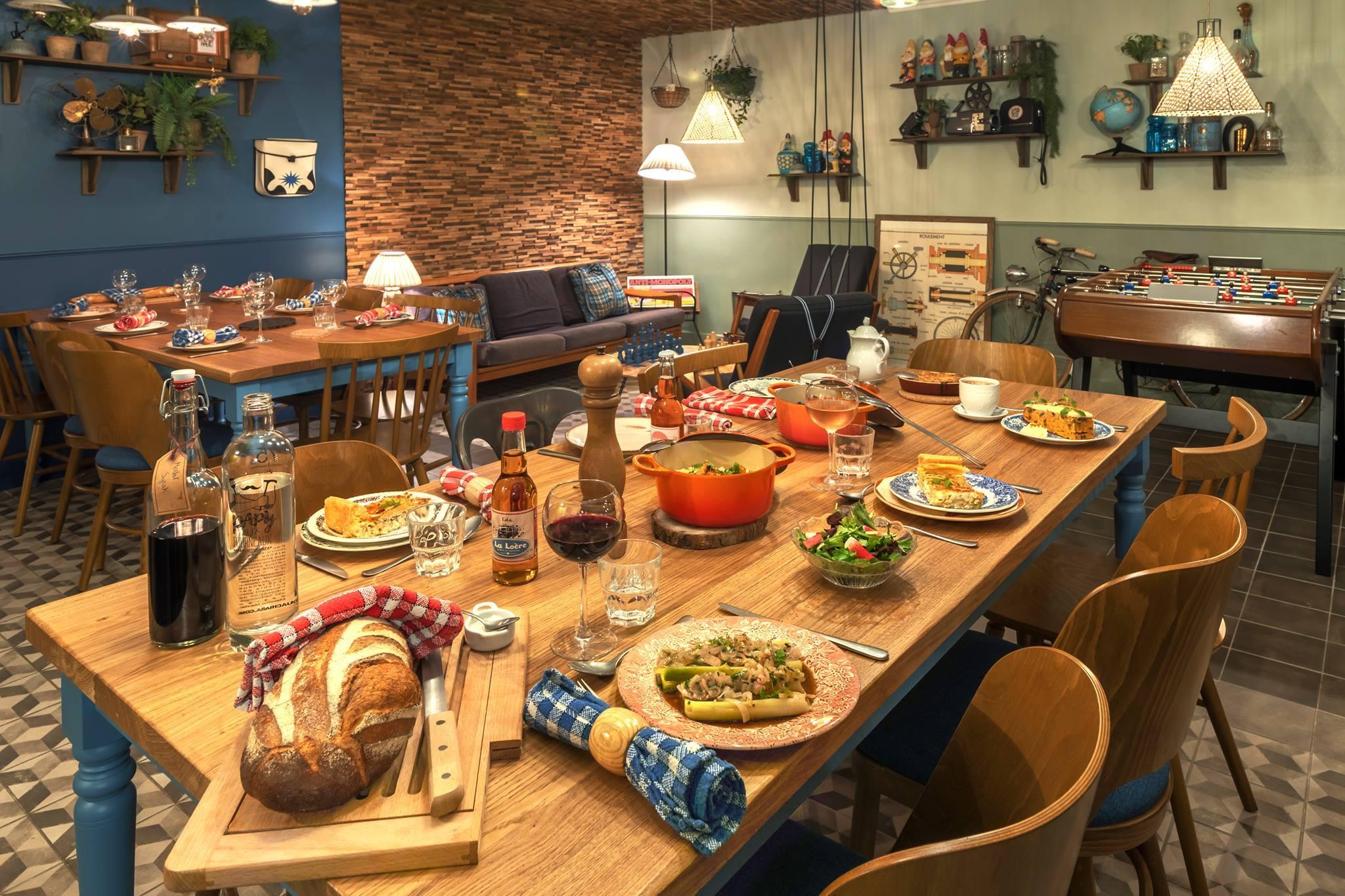 La table d'hôtes, nouvelle tendance hot avec Papy aux Fourneaux