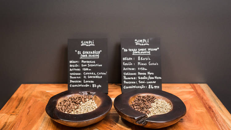 simpli, coffee shop