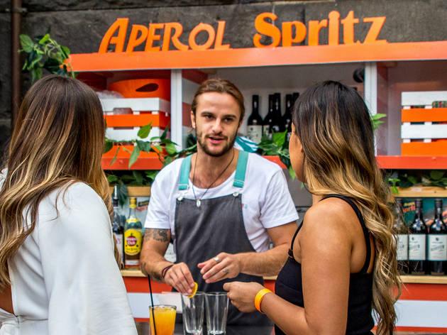 Club Aperol at Riverland Bar (Photograph: Supplied)