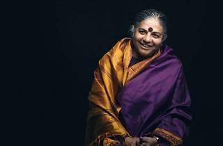 Conferencia de Vandana Shiva