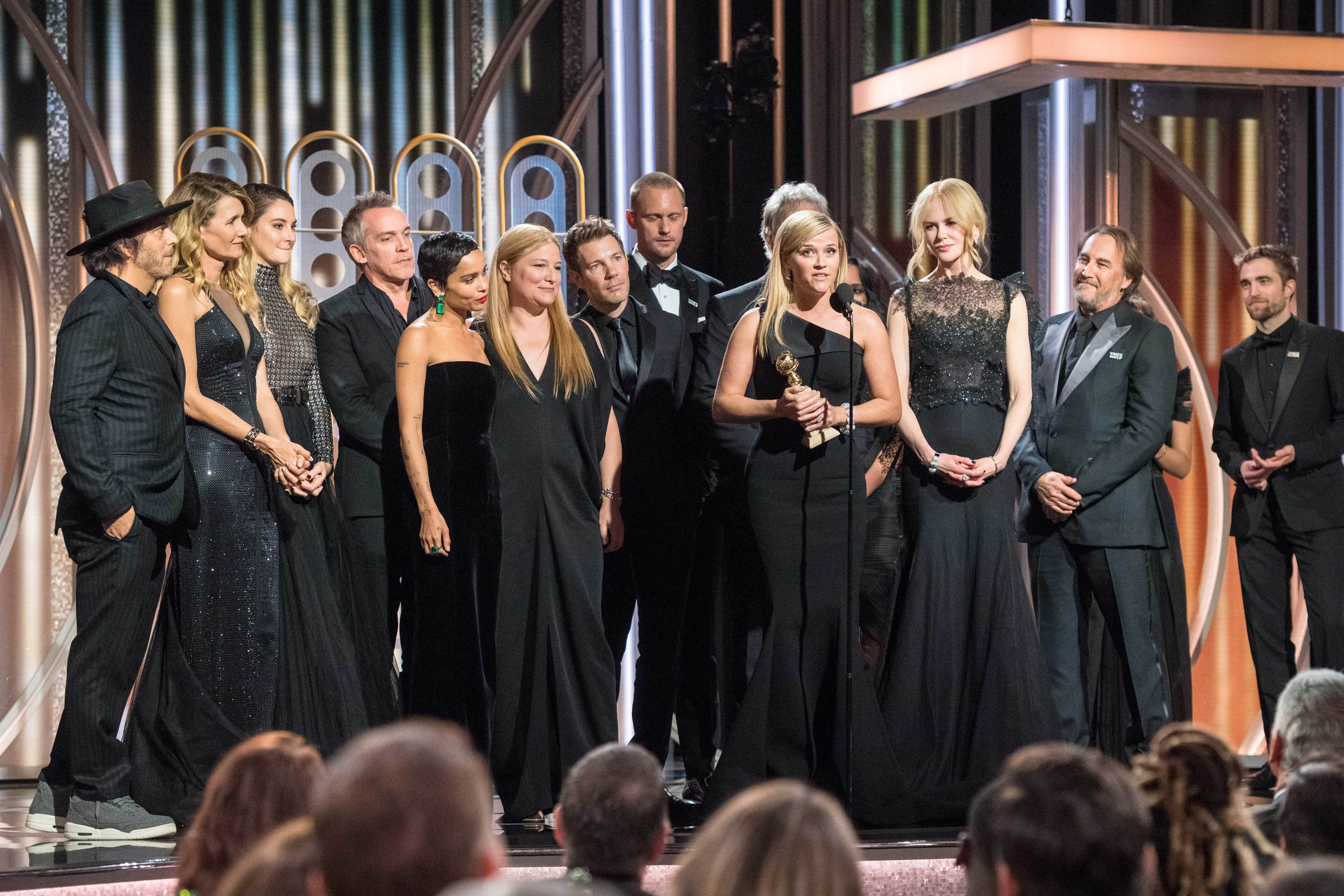 Big Little Lies, 75th Golden Globes Telecast Media