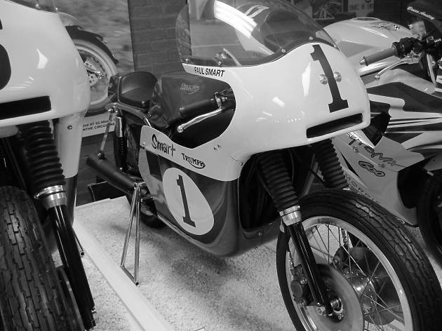 Wander around the National Motorcycle Museum