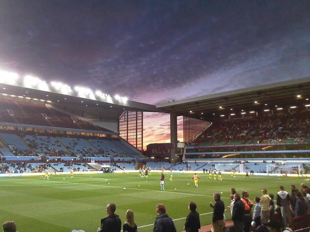Watch football at Villa Park