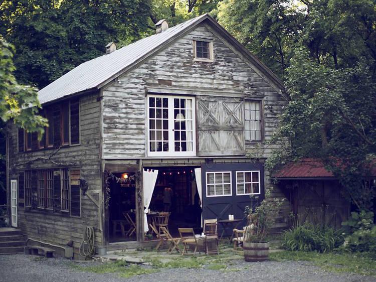Rustic Chic at the Barn in Tivoli, NY