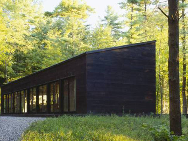 Glass Cabin in the Woods in Hillsdale, NY
