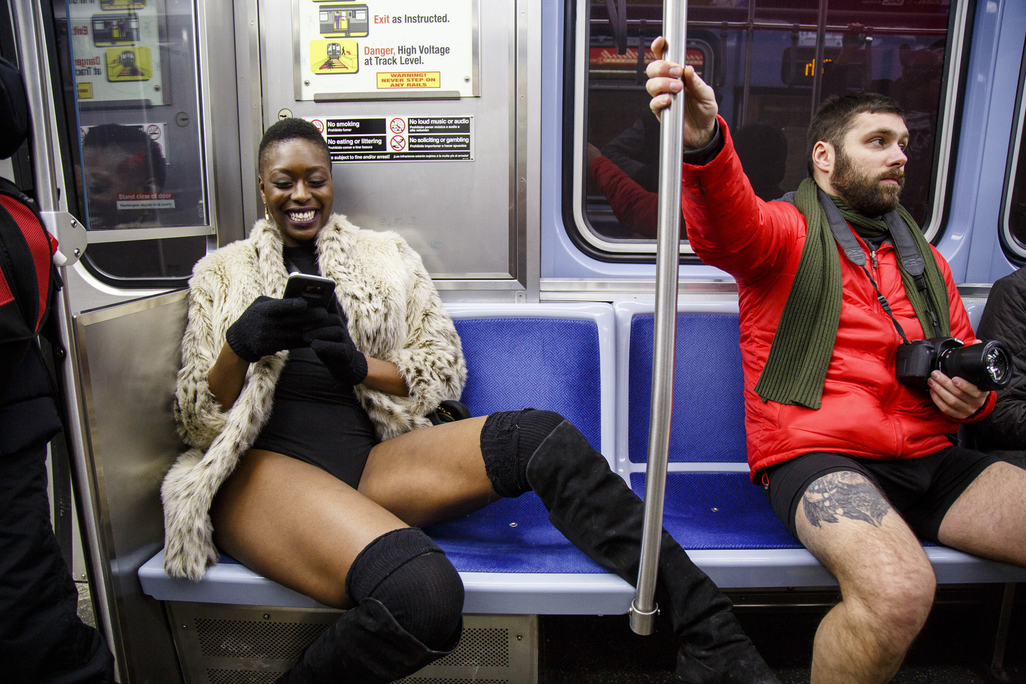 2018 No Pants Subway Ride