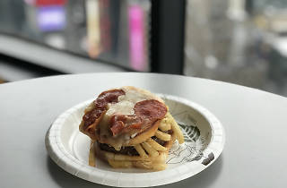An NYC restaurant just created an inexplicably bad pizza burger