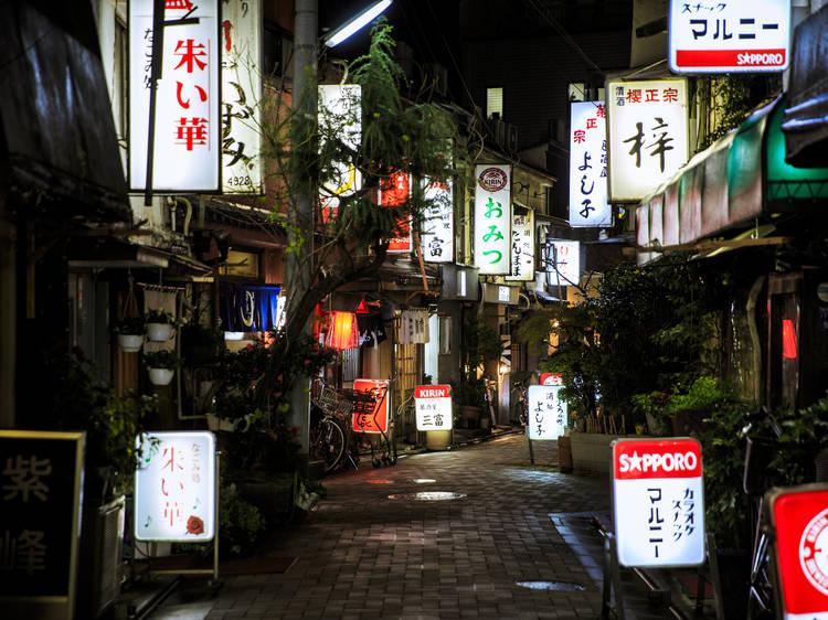 夜の門前仲町ガイド