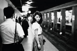 Girl in the subway, Tokyo