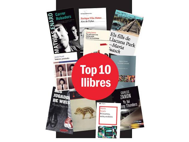 10 anys de llibres
