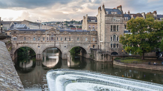 Pulteney Bridge, Bath, 2014