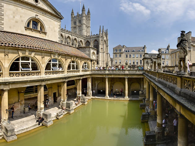 Roman Baths in Bath, from Wiki