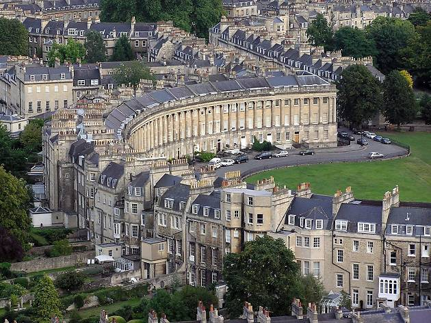 Royal Crescent, Bath, from Wiki