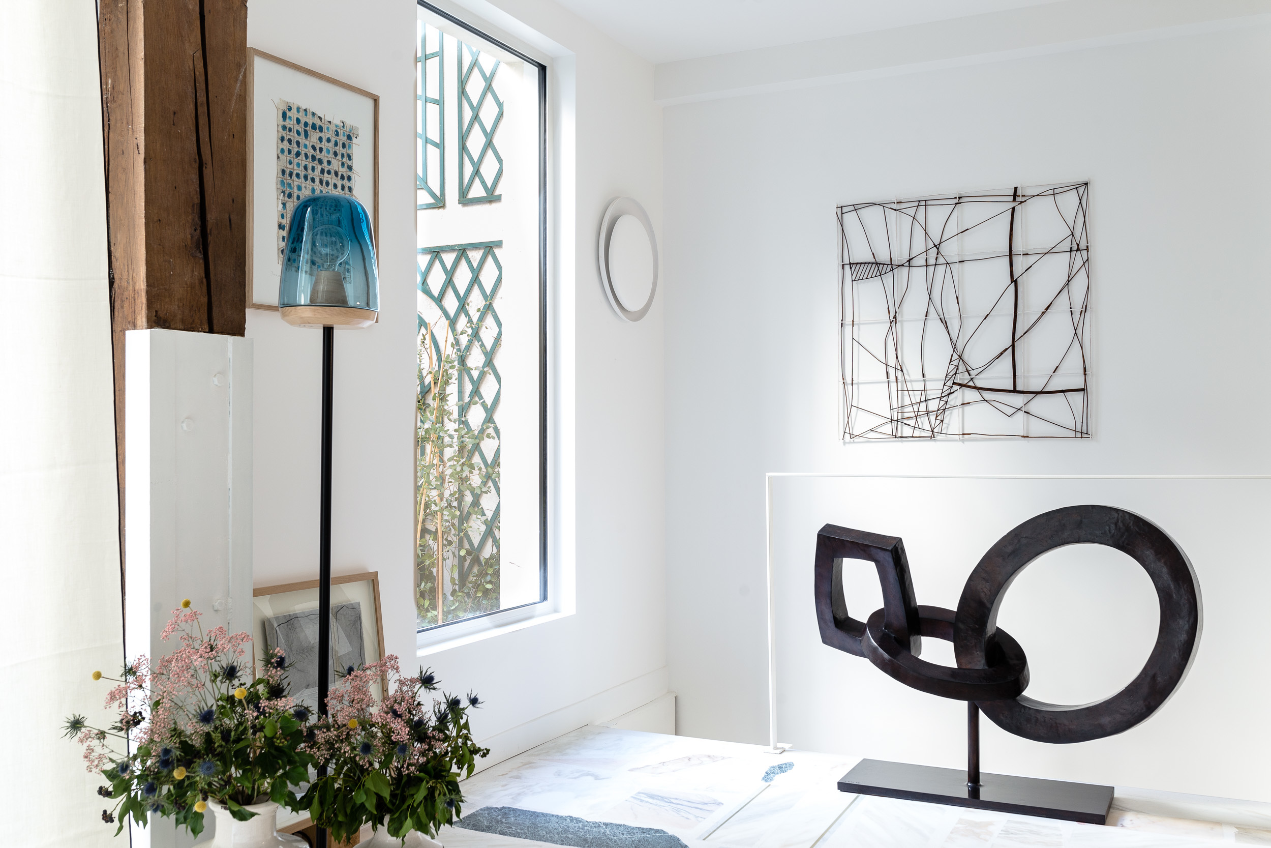 La Galerie Zeuxis ou l'art comme à la maison