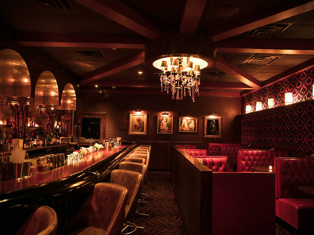 The Ranstead Room, a speakeasy in Philadelphia