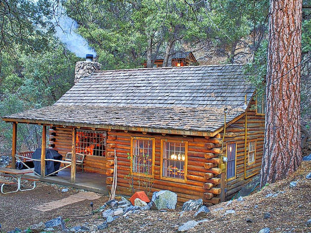 Authentic Log Cabin Experience in Pine Mountain Club, CA