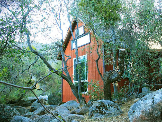 Off-Grid Tiny House at Spirit Walk in Wofford Heights, CA