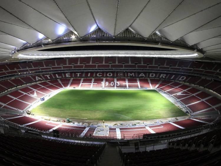 Apoya al Atlético de Madrid en el Wanda Metropolitano