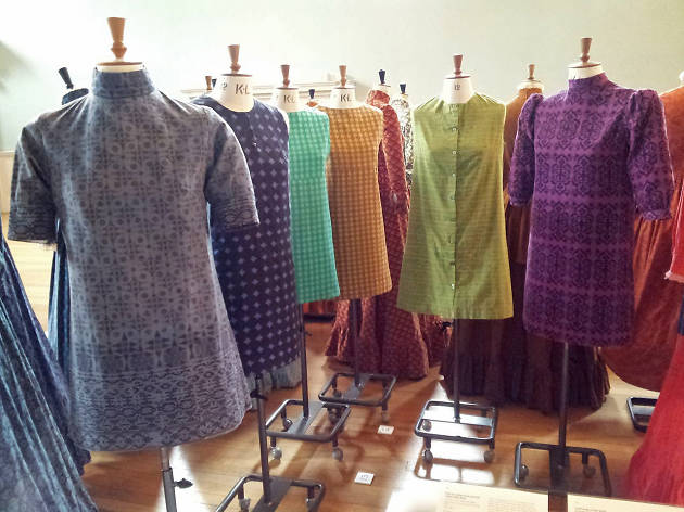 1960s Laura Ashley dresses at Bath Fashion Museum, from Wiki