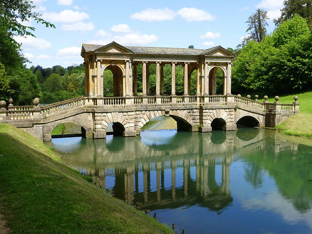Palladian Bridge, Prior Park Landscape Garden, Bath, from Wiki