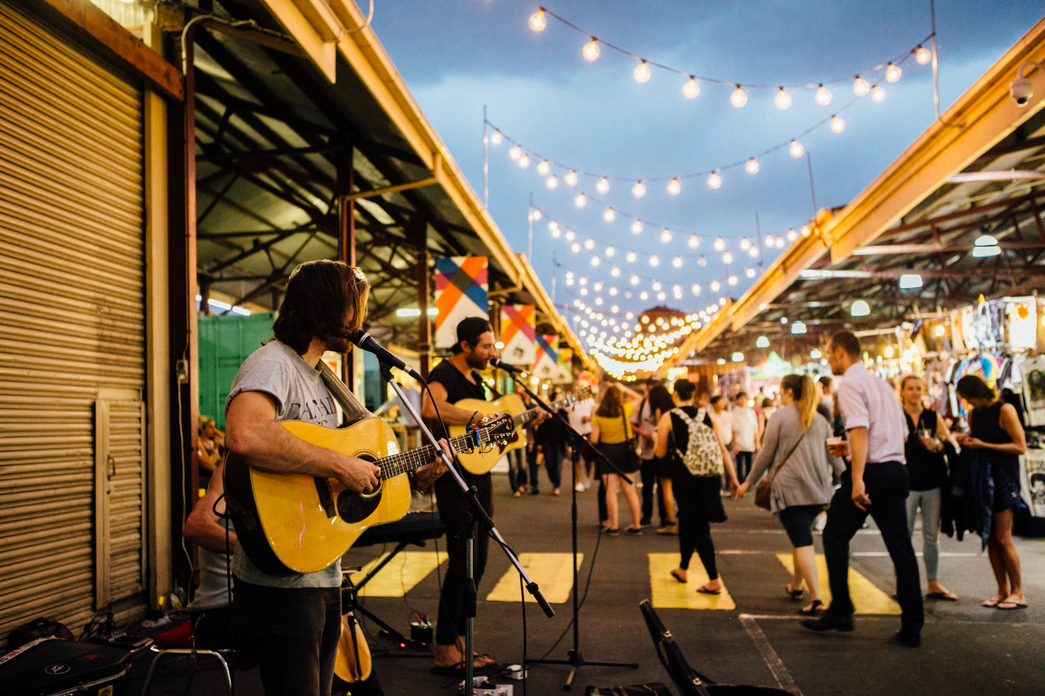 Head into the Queen Victoria Markets after work for food and fun