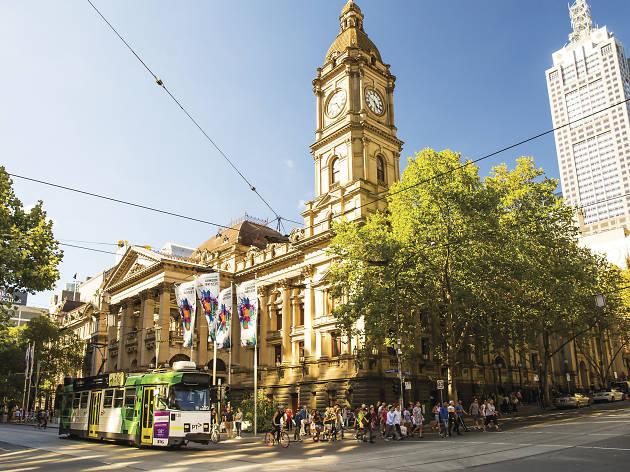 Melbourne Town Hall, Swanston Street, Melbourne