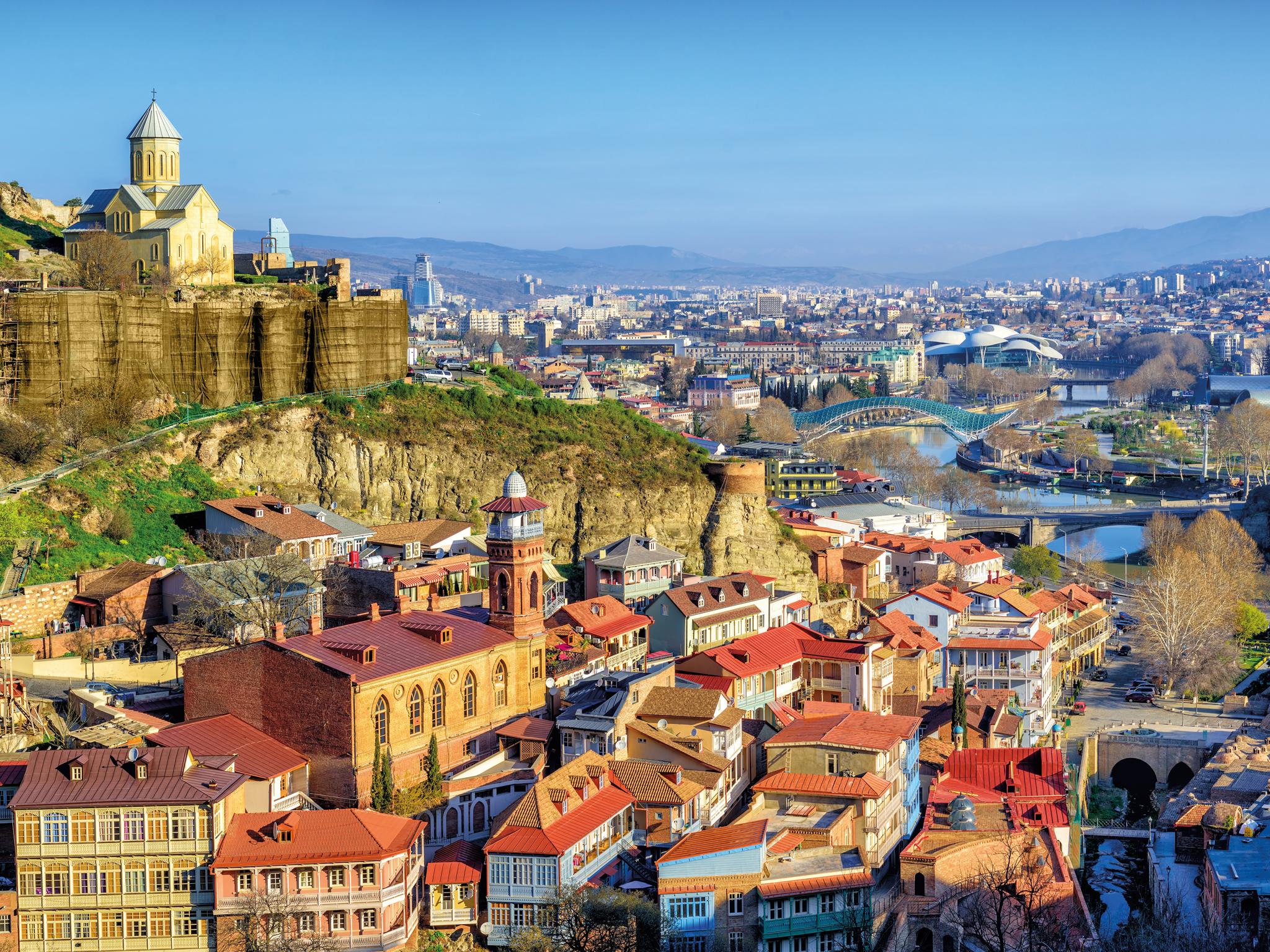 Viagens, Georgia, Tbilisi