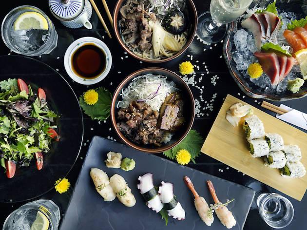 Best Japanese buffet: Kinki Restaurant and Bar