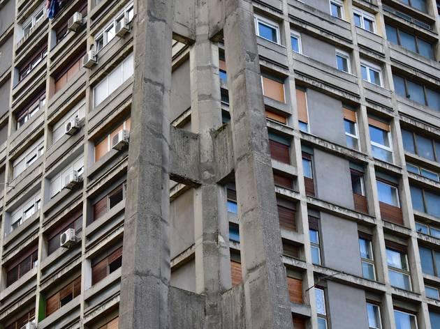 rakete rockets brutalism socialist realist