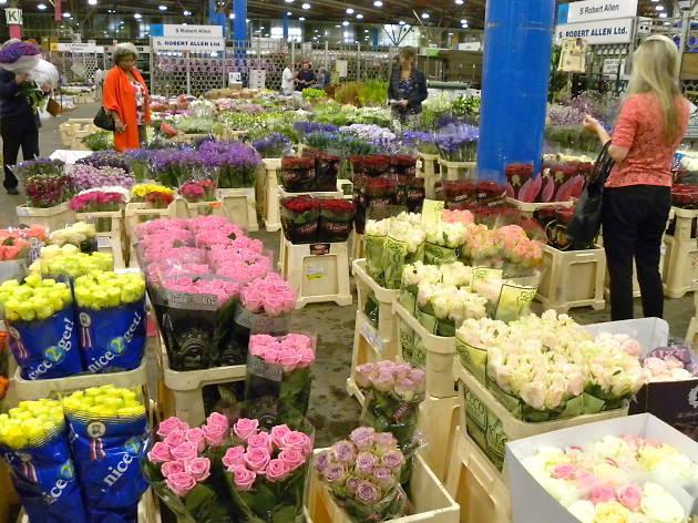 Visit New Covent Garden Flower Market