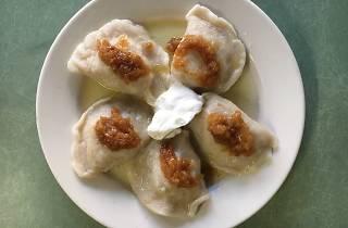 Pierogi at Syrenka Luncheonette