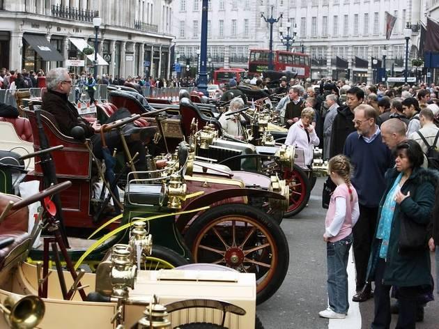 Regent Street Motor Show 2012