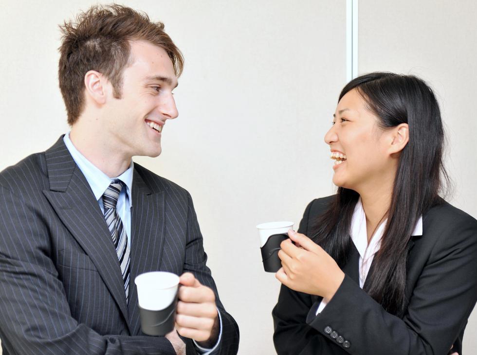 """""""Haha yes I do speak English, it's hilarious"""""""