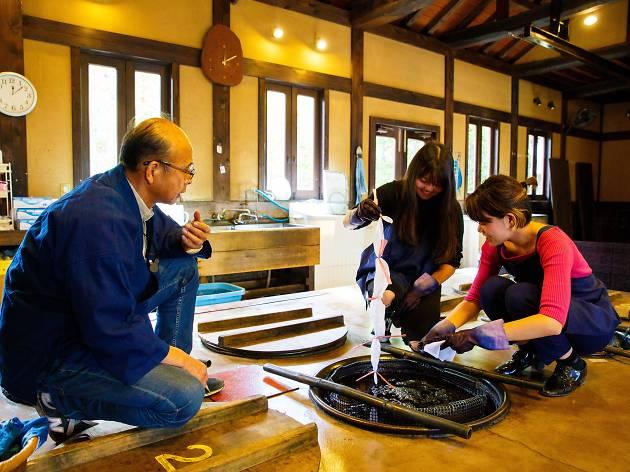 Kosoen Studio aizome dyeing | Time Out Tokyo