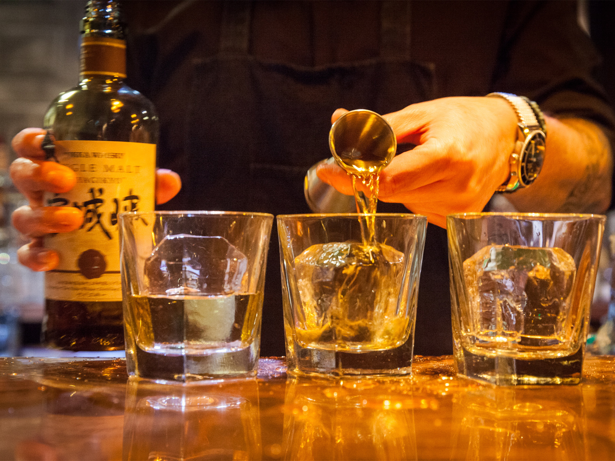 bull in a chinashop, whisky bars in london