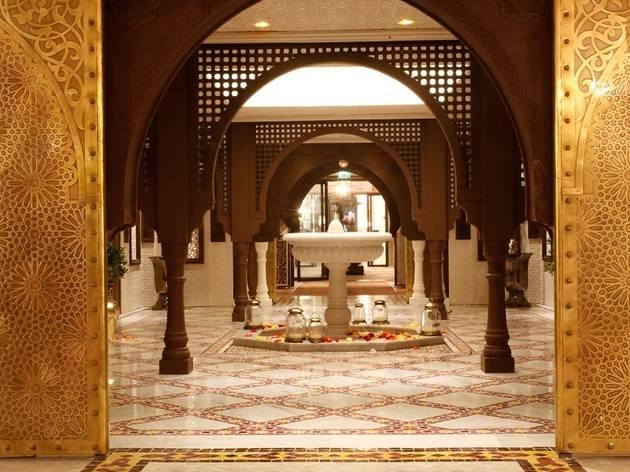 Inspiring Morocco riad at Harrods 2.jpg