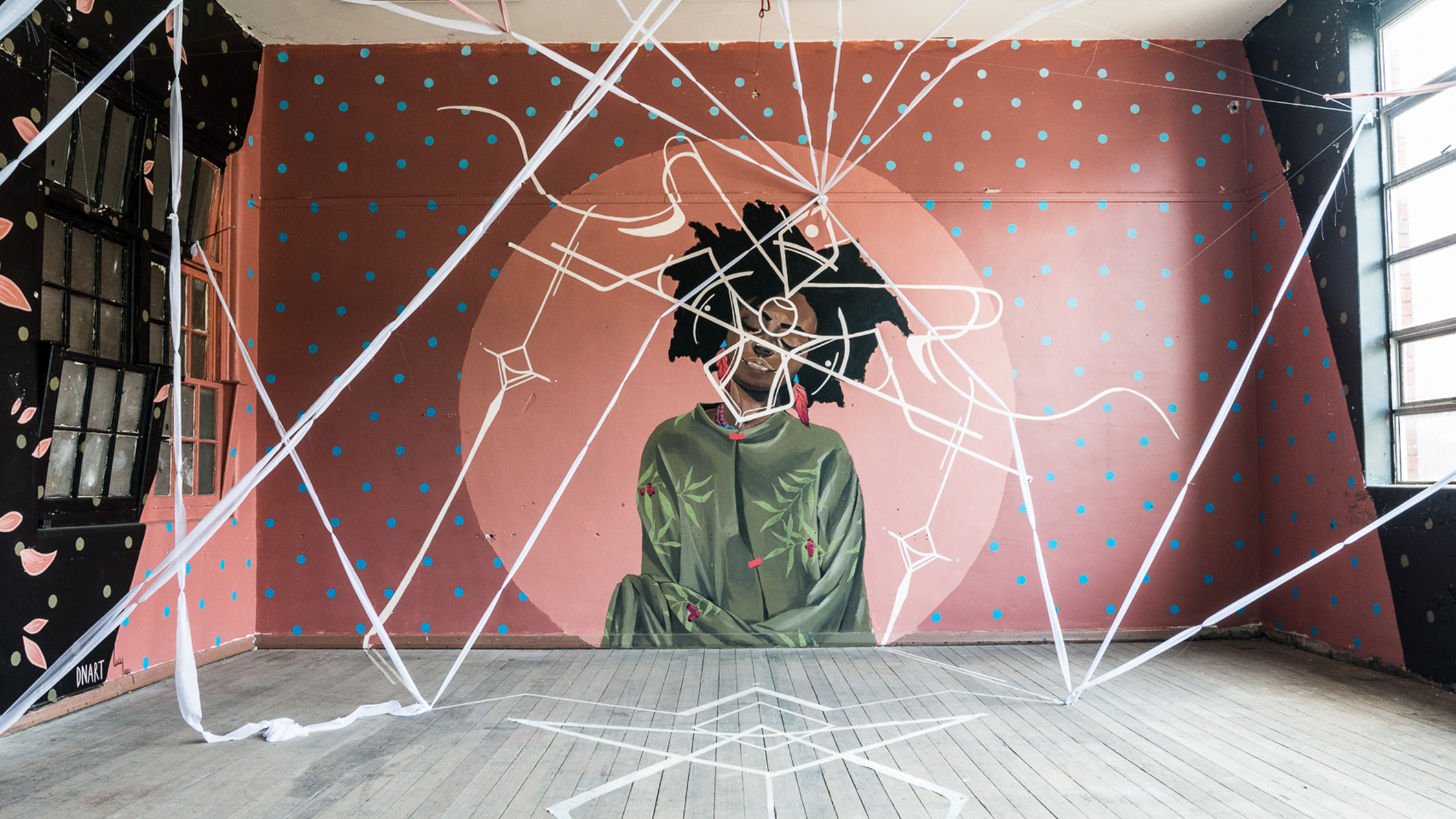Thirty street artists have transformed an abandoned school in Collingwood
