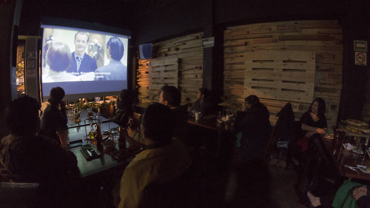 Cinebar es un proyecto de cine en la Narvarte