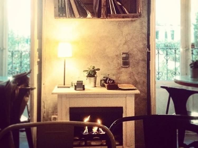 La chimenea del Mür Café