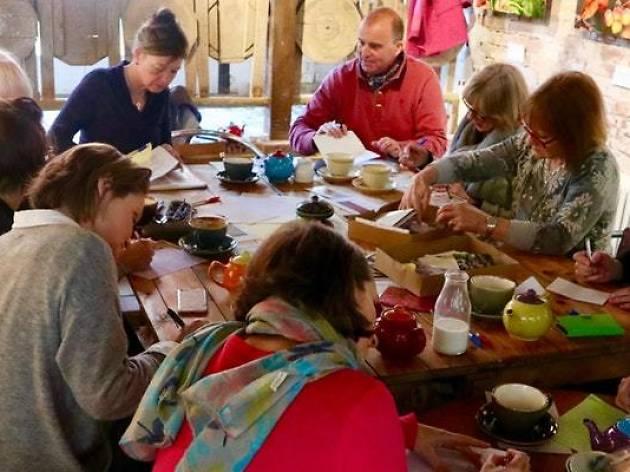Letter-writing workshop