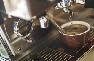Coffee Shop Cafeteria Restaurant Service Concept