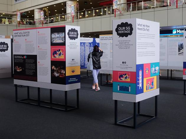 Our SG Heritage Plan travelling exhibition
