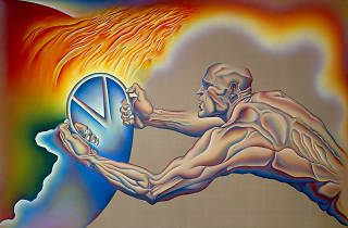 Judy Chicago, Driving the World to Destruction 1985