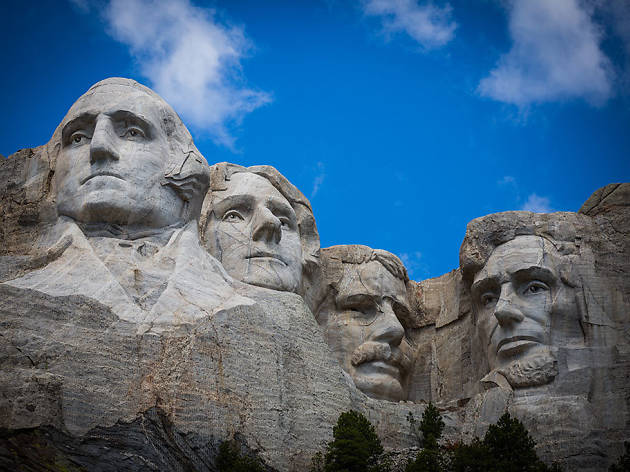 Mount Rushmore in Keystone, SD