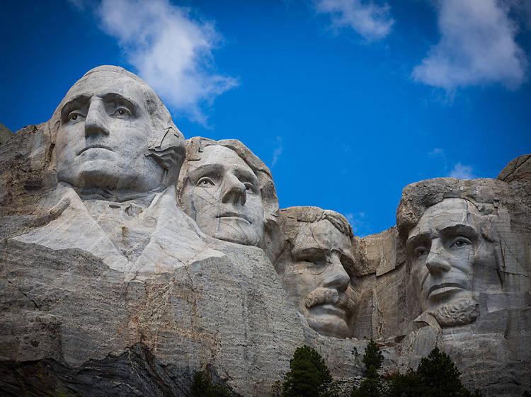 Mount Rushmore in Keystone, SD