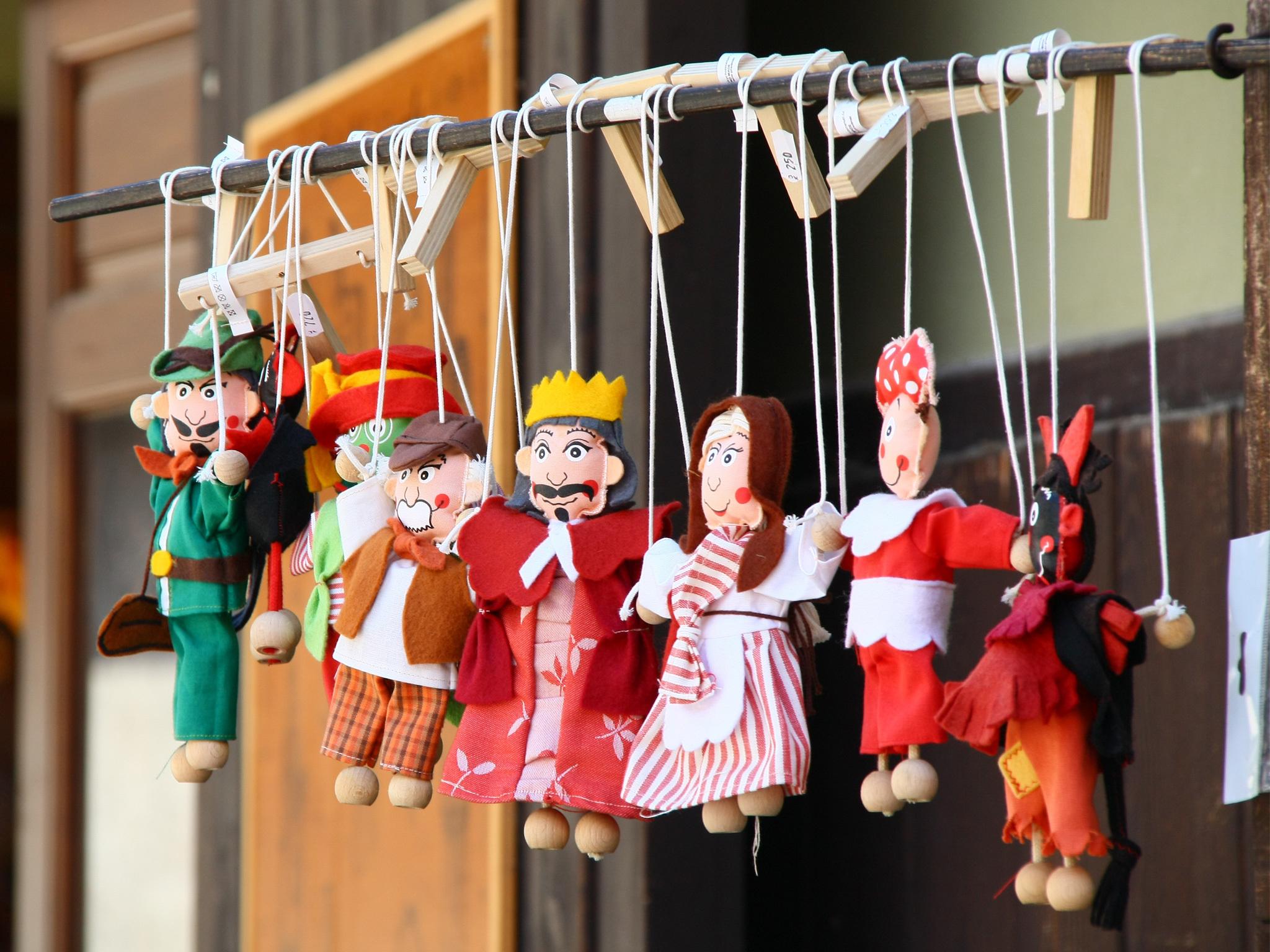 Teatro de marionetas para niños