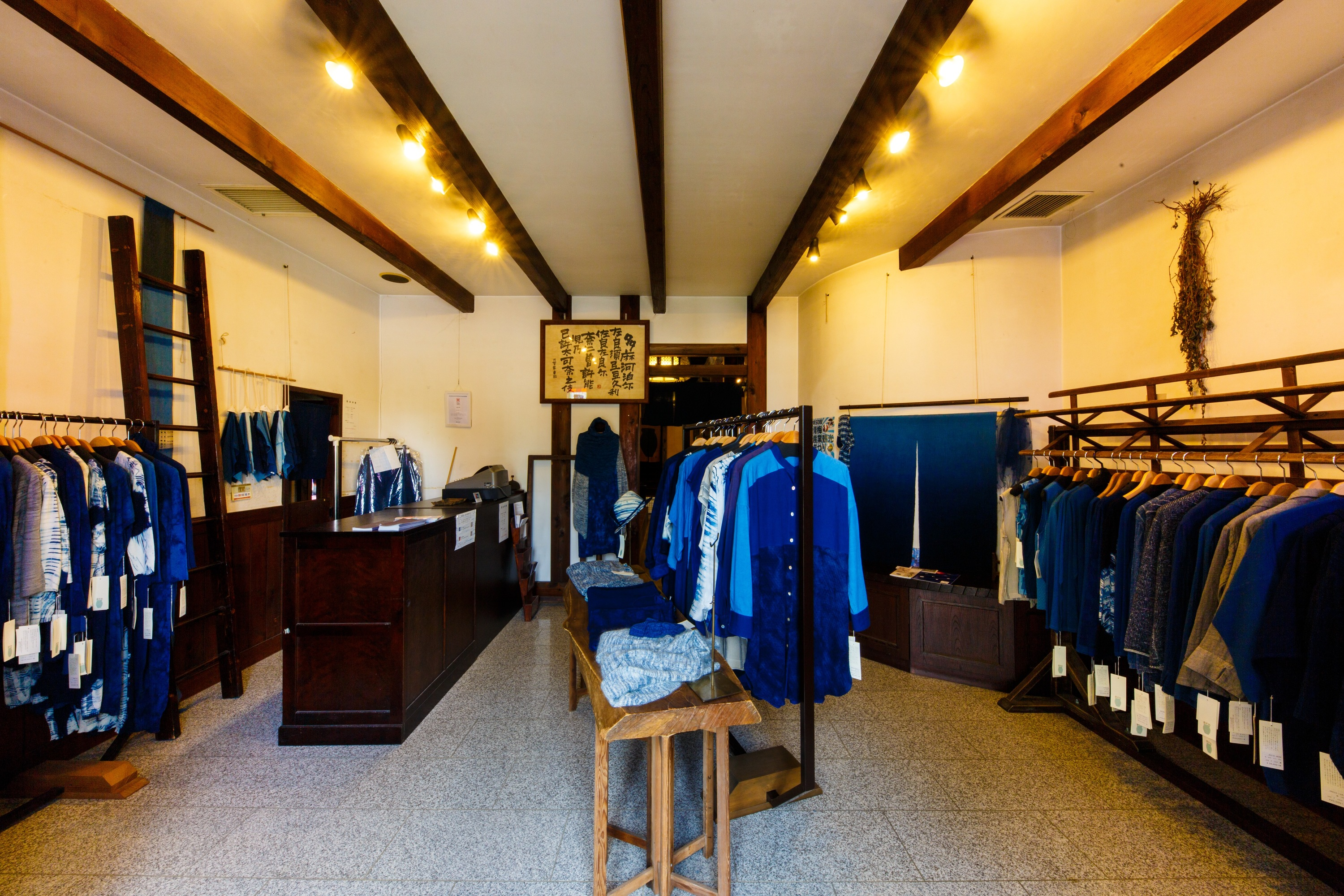 Where to buy or make indigo products in Tokyo