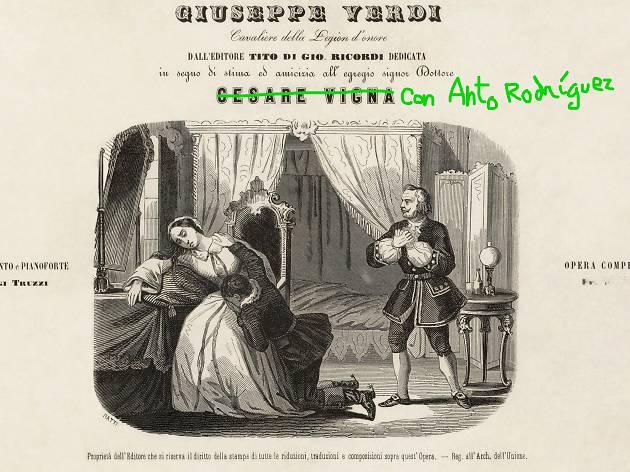 La Traviata. Anto Rodríguez